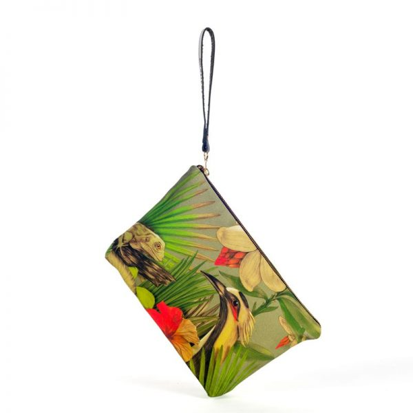 Pouch Bag Bird of Paradise